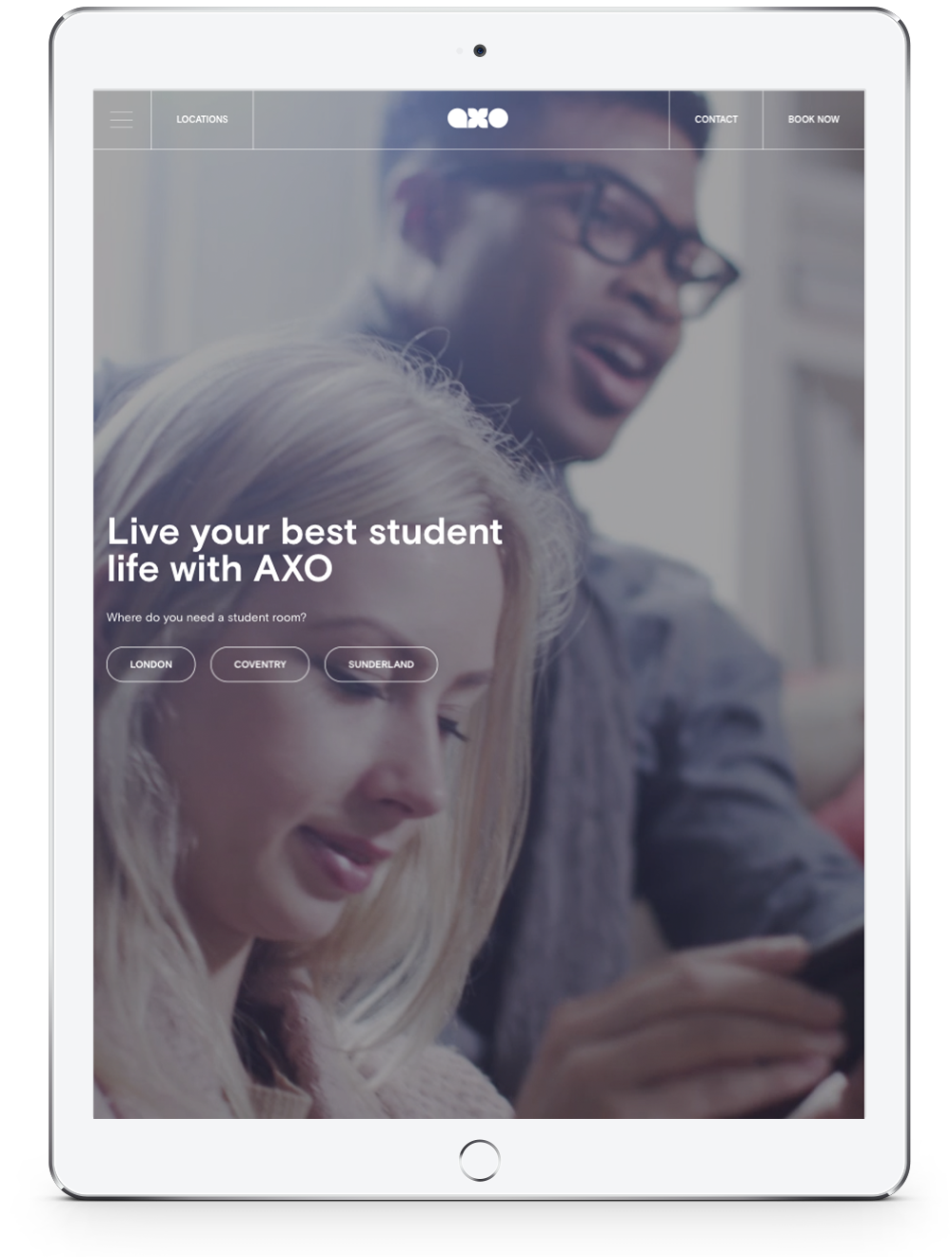 Axo Student Living Tablet Version