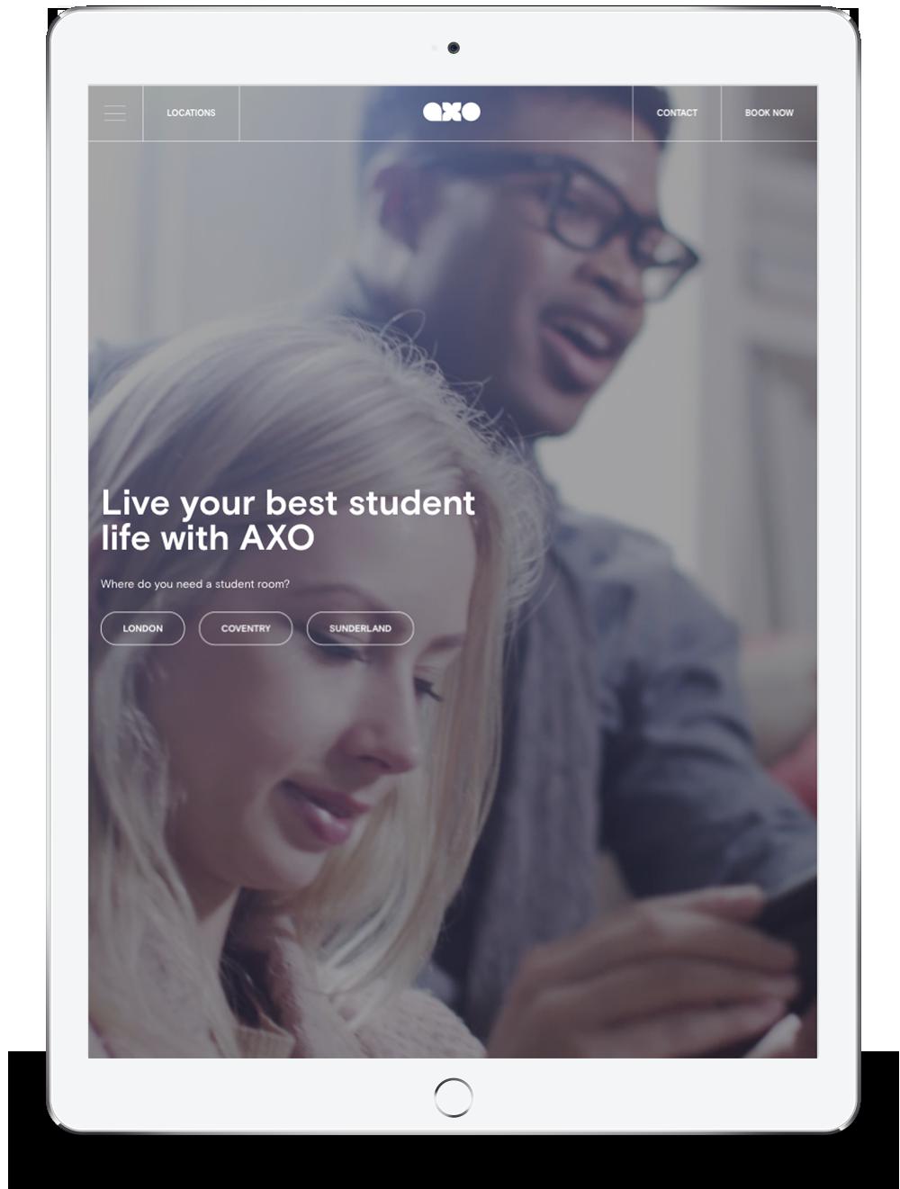 Axo Student Living Tablet Version