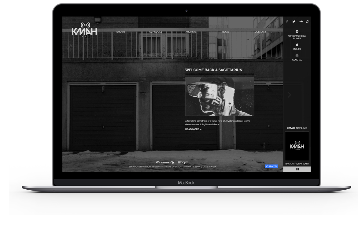 KMAH Radio Desktop Version