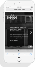 KMAH Radio Mobile Version