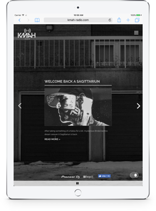 KMAH Radio Tablet Version