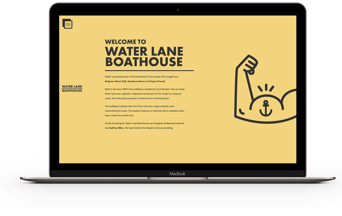 Water Lane Boathouse Desktop Version